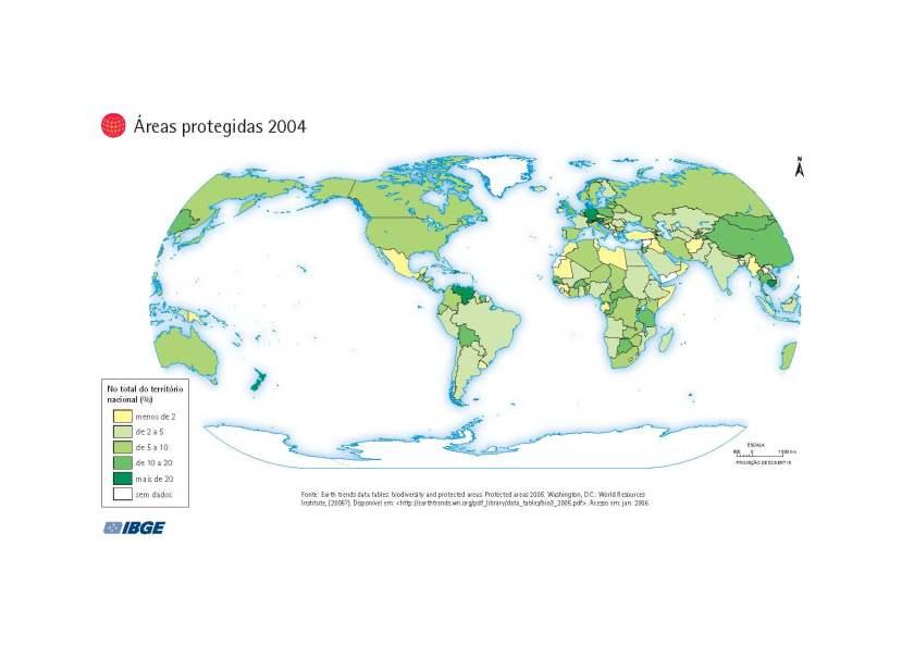 Áreas Protegidas no Mundo